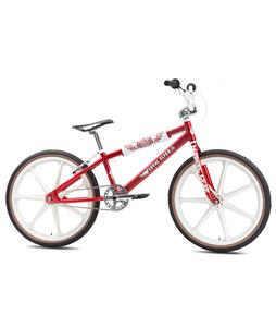 SE Floval Flyer Looptail BMX Bike Red 24