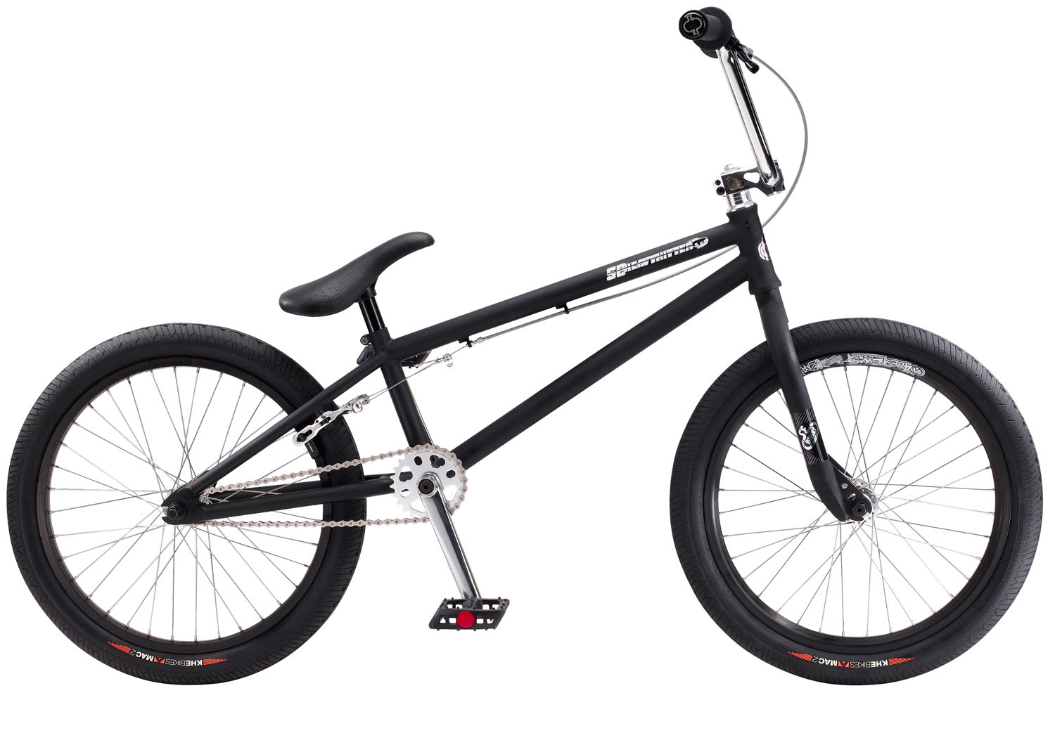 SE Heavy Hitter Bike Black 20 Inch BMX