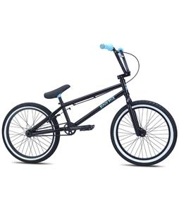 SE Hoodrich BMX Bike Black w/ Blue 20in/20.5in Top Tube