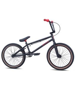 SE Hoodrich BMX Bike Matte Black w/ Red 20in/20.5in Top Tube