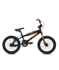 SE Lil Ripper 16 BMX Bike Black Sparkle 16in/16.5in Top Tube