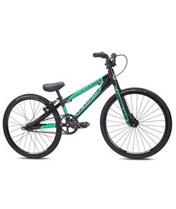 SE Mini Ripper BMX Bike Black 20in/17.4in Top Tube