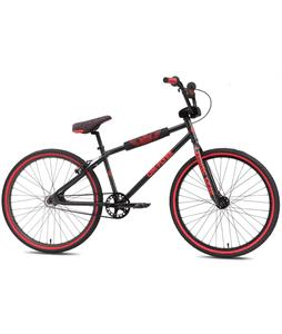 SE Om Flyer BMX Bike Matte Black 26in