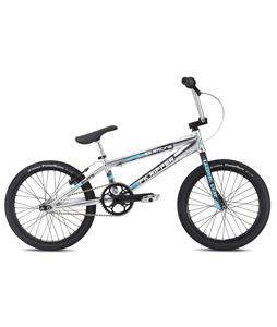 SE Pk Ripper Elite BMX Bike High Polish Silver 20in/20.5in Top Tube
