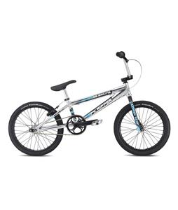 SE Pk Ripper Rlite XL BMX Bike High Polish Silver 20in/21in Top Tube