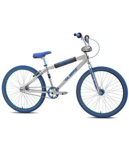 SE Pk Ripper Looptail 26 BMX Bike High Polish Silver 26in