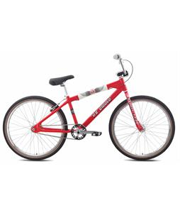 SE Pk Ripper Looptail 26 BMX Bike Red 26in/22.2in Top Tube
