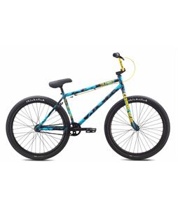 SE Primetime 26 BMX Bike Ocean Camo 26in/23.2in Top Tube
