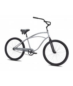 SE Rip Style BMX Bike Gray 26In