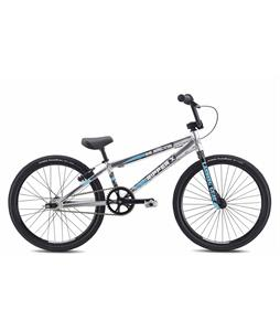 SE Ripper X BMX Bike High Polish Silver 20in/19.5in Top Tube
