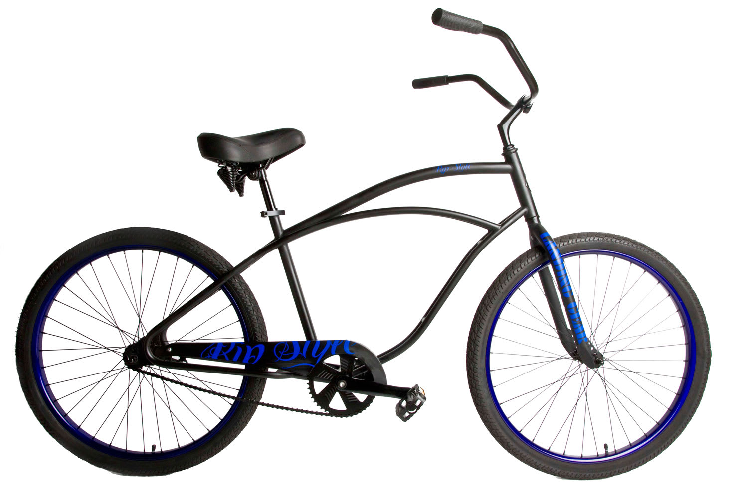 SE Rip Style Adult Beach Cruiser Bike Black 26""