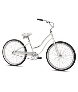 SE Rip Style BMX Bike White 26In