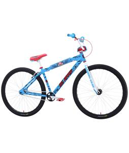 SE Santa Cruz Big Ripper 29 BMX Bike Blue/Santa Cruz Screaming Hand 29in