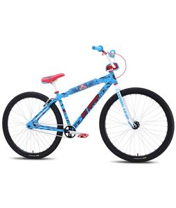 SE Santa Cruz Big Ripper BMX Bike Blue/Santa Cruz Screaming Hand 29in