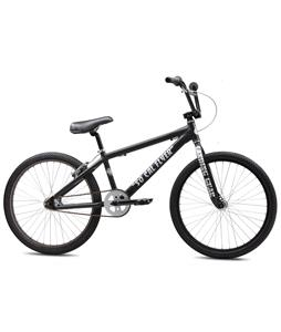 SE So Cal Flyer BMX Bike Matte Black 24in