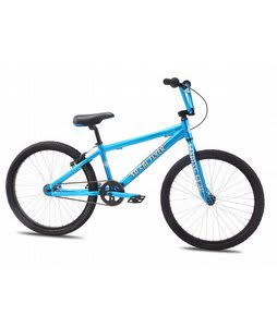 SE So Cal Flyer BMX Bike Blue Soda 24in