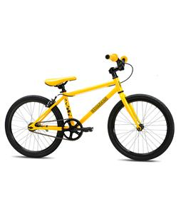SE Soda Pop BMX Bike Yellow 20in/16in Top Tube