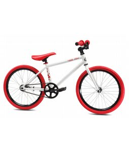 SE Soda Pop BMX Bike White 20