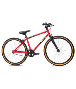 SE Soda Pop 24 BMX Bike Red 24in/18in Top Tube