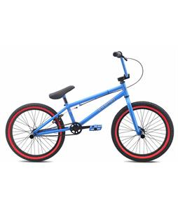 SE Wildman BMX Bike Blue 20in/19.5in Top Tube