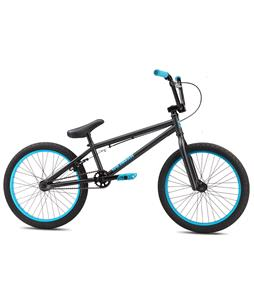 SE Wildman BMX Bike Matte Black/Blue 20in