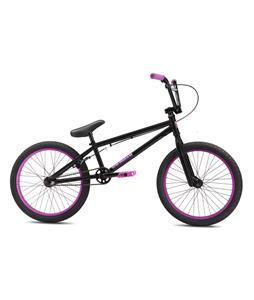SE Wildman BMX Bike Matte Black/Purple 20in