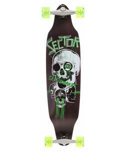 Sector 9 Carbon Decline Platinum Longboard Skateboard Complete