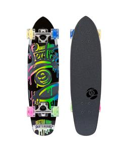 Sector 9 95 Glow Wheel Cruiser Complete