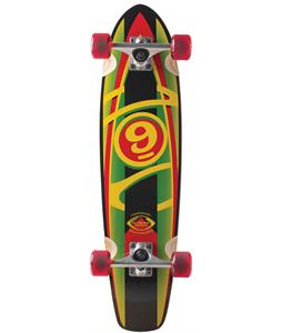 Sector 9 Baseline Mini Longboard Complete Rasta