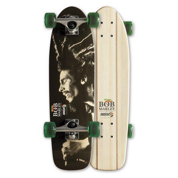 On Sale Sector 9 Bob Marley Babylon Longboard Skateboard ... Longboard Sector 9 Bob Marley
