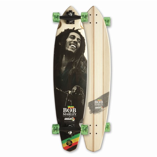 Sector 9 Bob Marley Soul Rebel Longboard Skateboard Complete