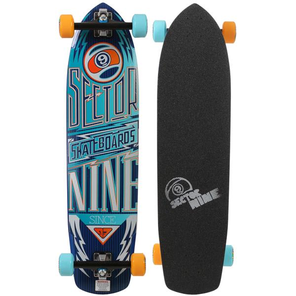 Sector 9 Carbon Flight Skateboard Complete