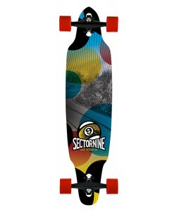 Sector 9 Drifter Platinum Longboard Complete Red
