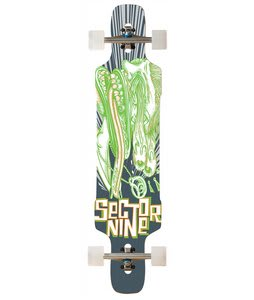 Sector 9 Eye Dropper Platinum Longboard Complete Green 9.6x41.8In