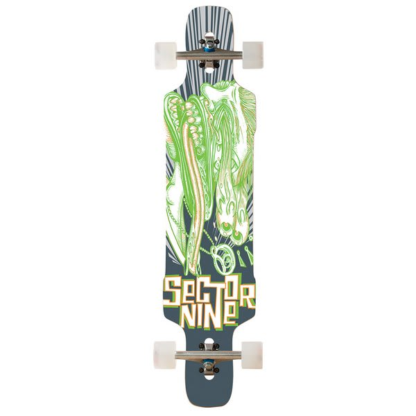 Sector 9 Eye Dropper Platinum Longboard Complete