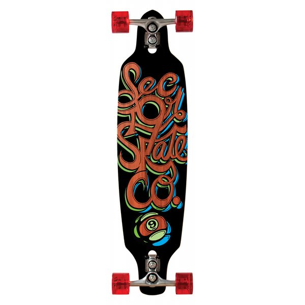 Sector 9 Fraction Sidewinder Longboard Complete