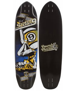 Sector 9 Lacey Downhill Division Longboard Skateboard 10.25x38