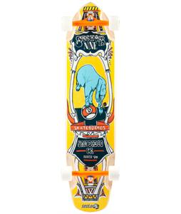 Sector 9 Mini Daisy Platinum Longboard Complete Yellow