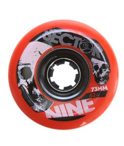 Sector 9 Race Longboard Wheels Red 73mm