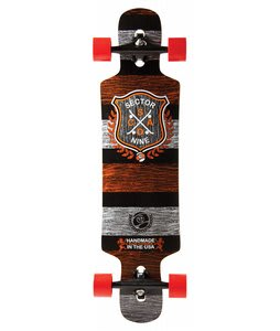 Sector 9 Sprocket Platinum Longboard Complete Red
