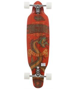 Sector 9 Striker Sidewinder Longboard Complete Red