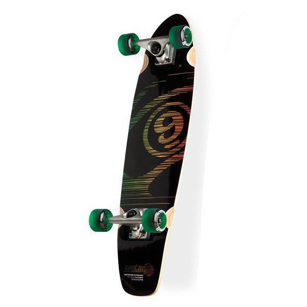 Sector 9 Subtraction Mini Longboard Skateboard Complete