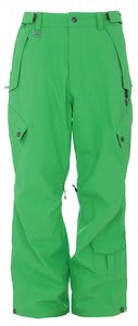 Sessions Achilles Snowboard Pants Krypto Green