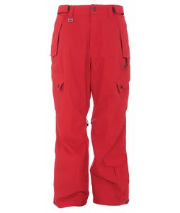 Sessions Achilles Snowboard Pants Red Alert