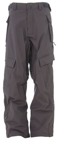 Sessions Cargo Cargo Snowboard Pants Gunmetal