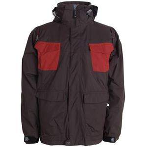 Sessions Combaticon Snowboard Jacket Brown/Chimayo
