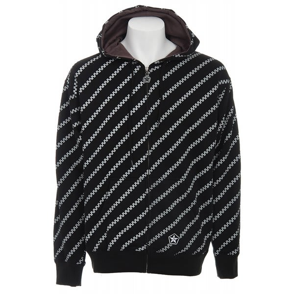 Sessions Diagonal Pin Zip Hoodie