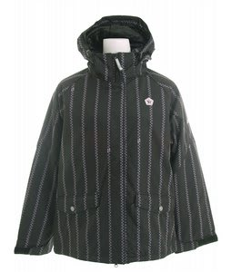 Sessions Divine Snowboard Jacket Black/Pink Pinzip