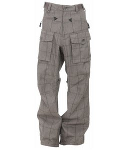 Sessions Fireball Window Snowboard Pants Desert/Black Plaid