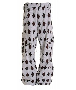 Sessions Gridlock Snowboard Pants White Stargyle